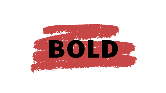 BOLD: Welcome 2020